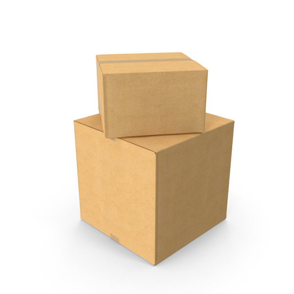 Two Cardboard Boxes PNG Images & PSDs for Download.
