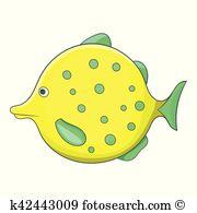 Boxfish Clip Art and Illustration. 8 boxfish clipart vector EPS.