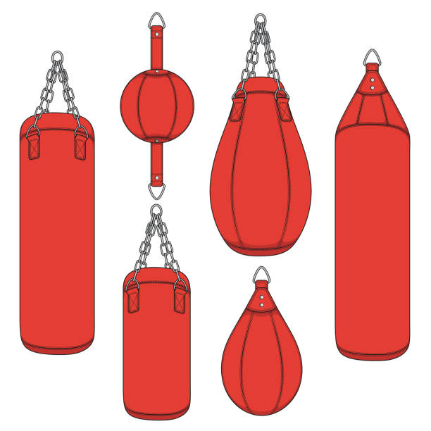 Best Punching Bag Illustrations, Royalty.
