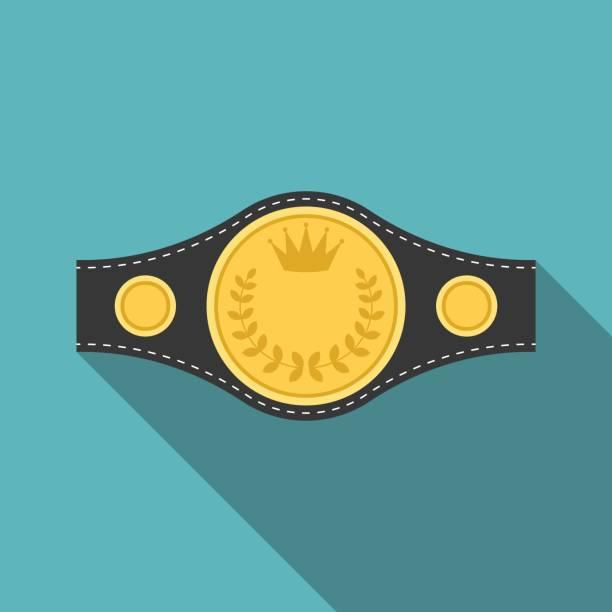 Best Boxing Champion Belt Illustrations, Royalty.