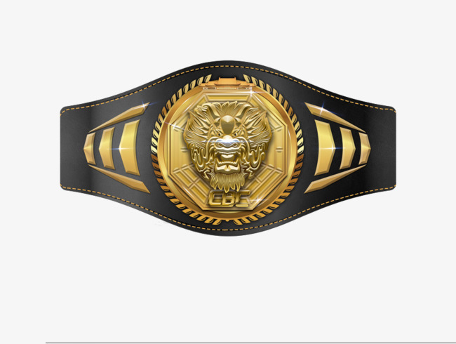 Boxing Belt PNG Transparent Boxing Belt.PNG Images..