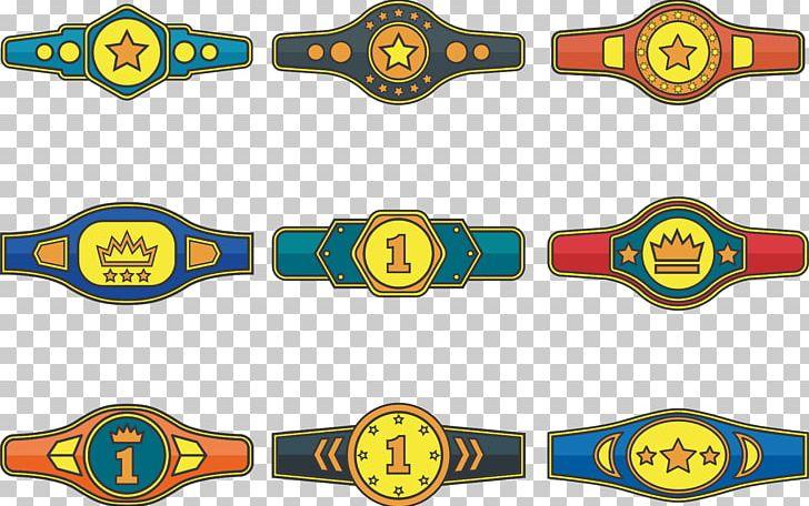 Championship Belt Boxing PNG, Clipart, Belt, Belt Vector.