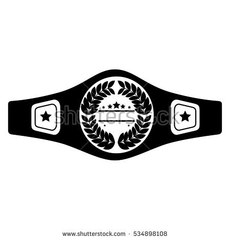 Download Free png boxing belt isolated icon.