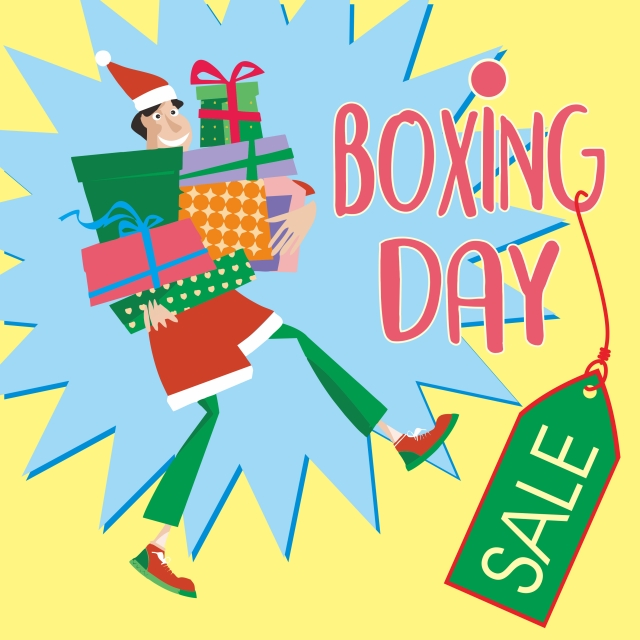 Boxing Day Sale, Boxing Day, Sale, December 26 PNG Image and Clipart.