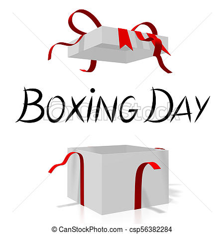 Boxing Day illustration.