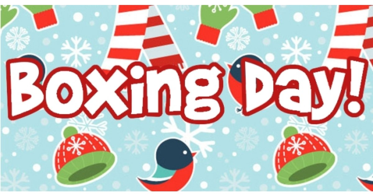 Boxing Day Deals @ Bargainmoose!.