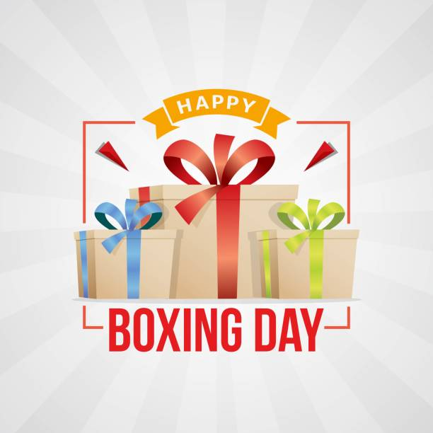 Best Boxing Day Illustrations, Royalty.