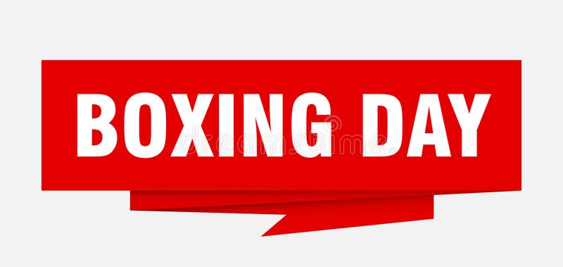 Boxing Day Stock Illustrations.