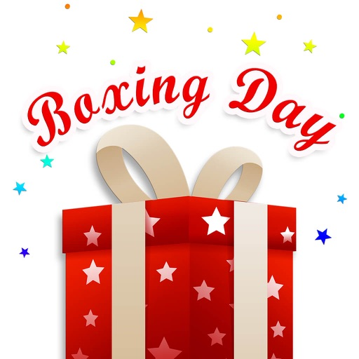 Happy Boxing Day Gifts Sticker by Sok Yin Yeong.