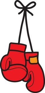 Boxing Gloves Clipart Image.