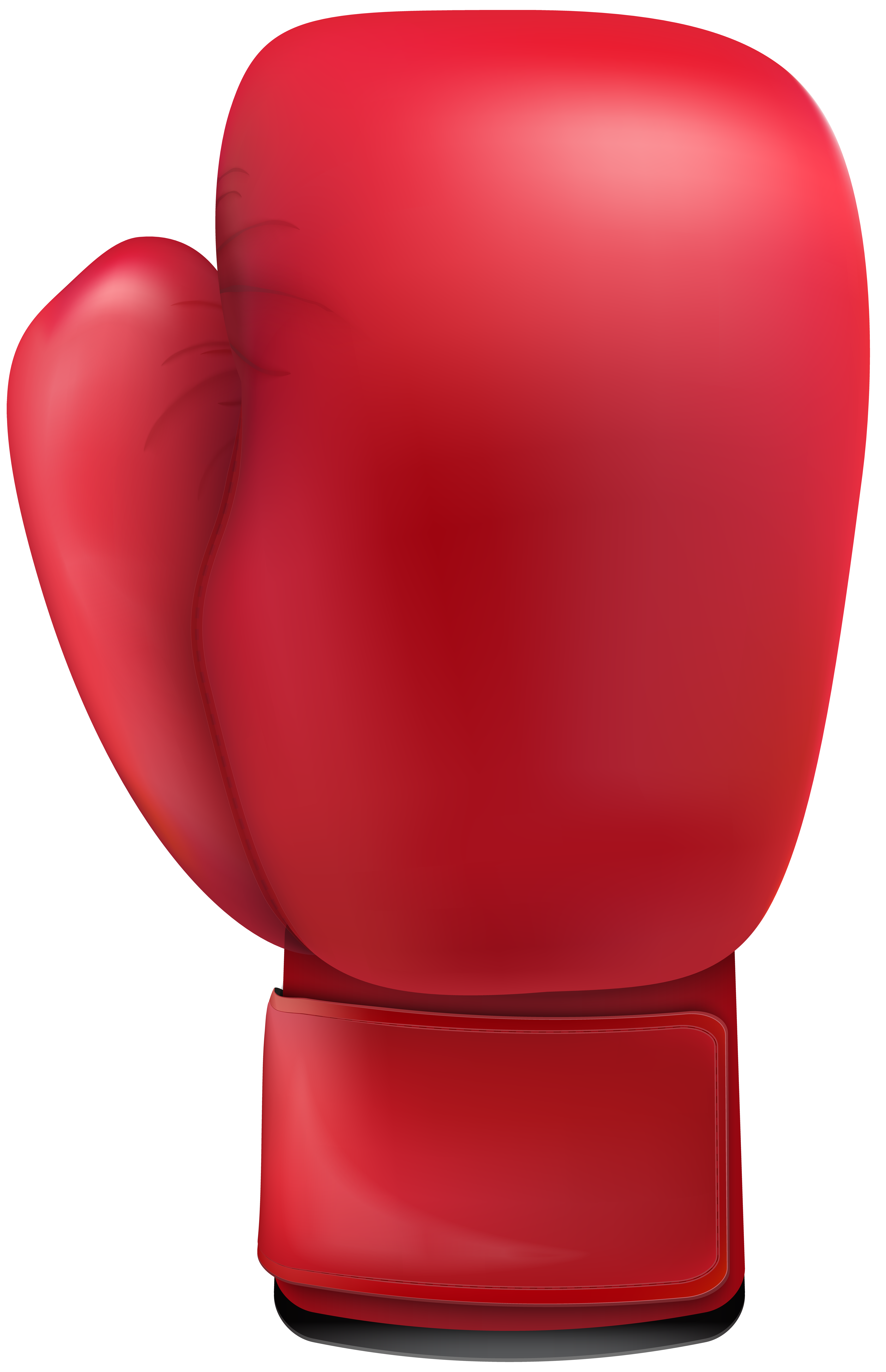 Red Boxing Glove PNG Clip Art.