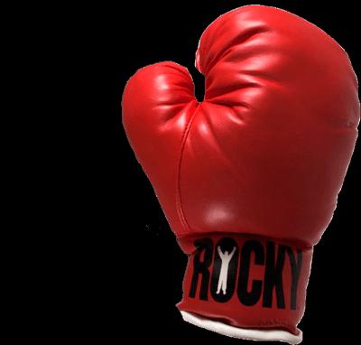 Boxing Glove transparent PNG.
