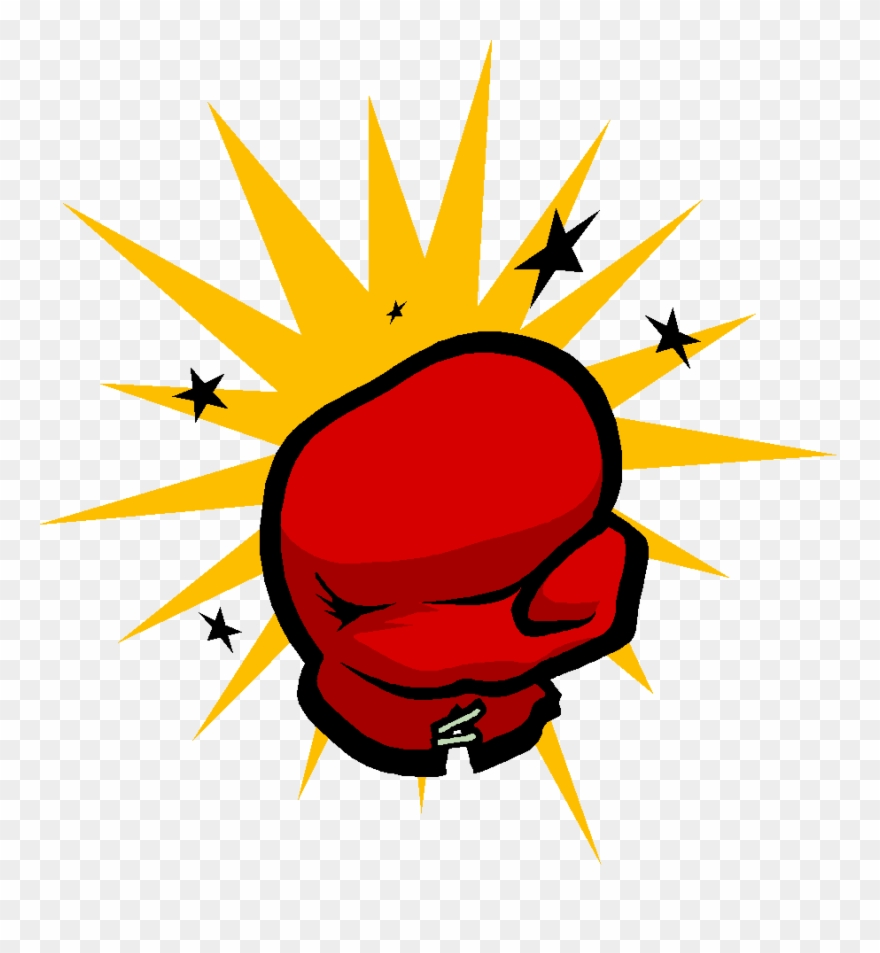 Boxing Gloves Punching Clip Art.