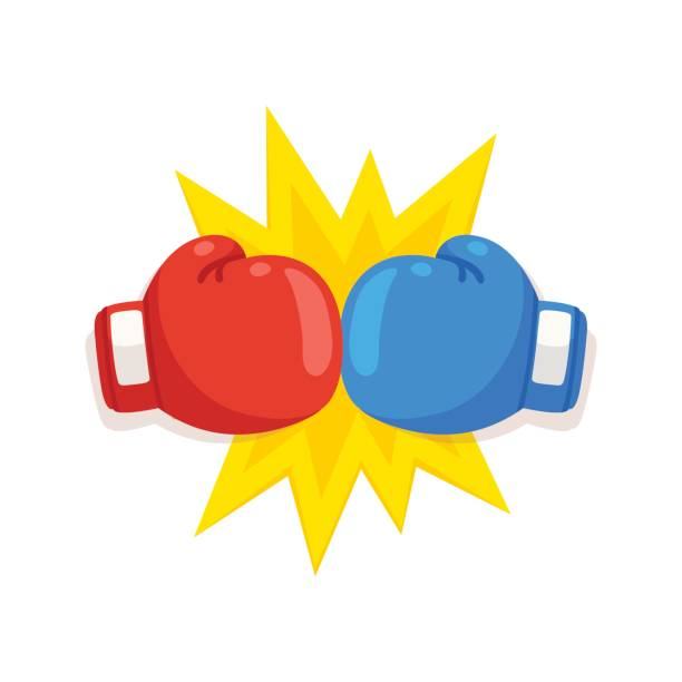 Best Boxing Gloves Illustrations, Royalty.