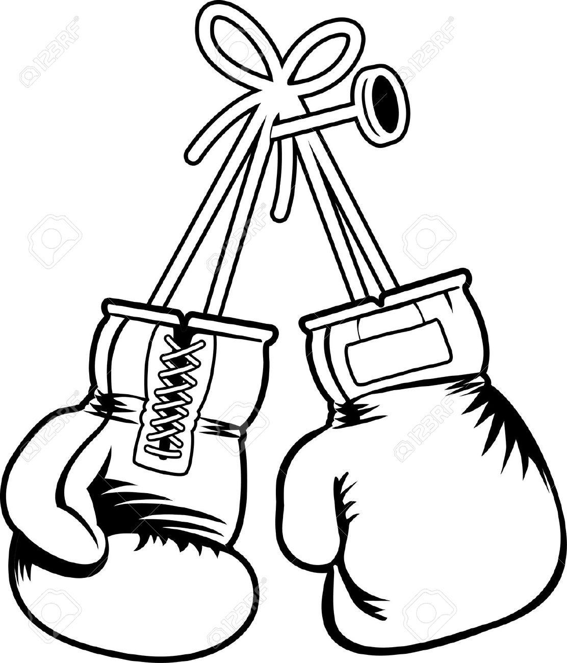 Free clipart boxing gloves.