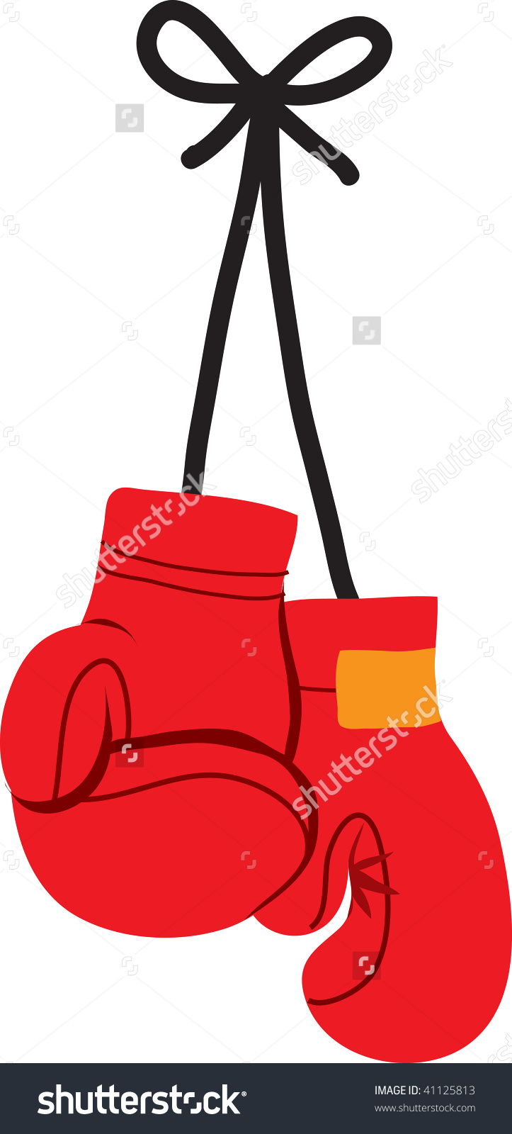 Boxing Glove Clipart.