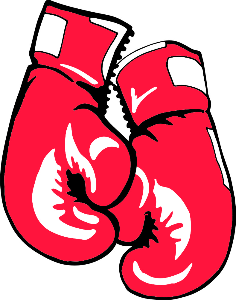 Boxing Gloves Clipart.