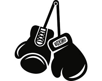 Boxing Gloves Clipart Black And White (97+ images in Collection) Page 1.