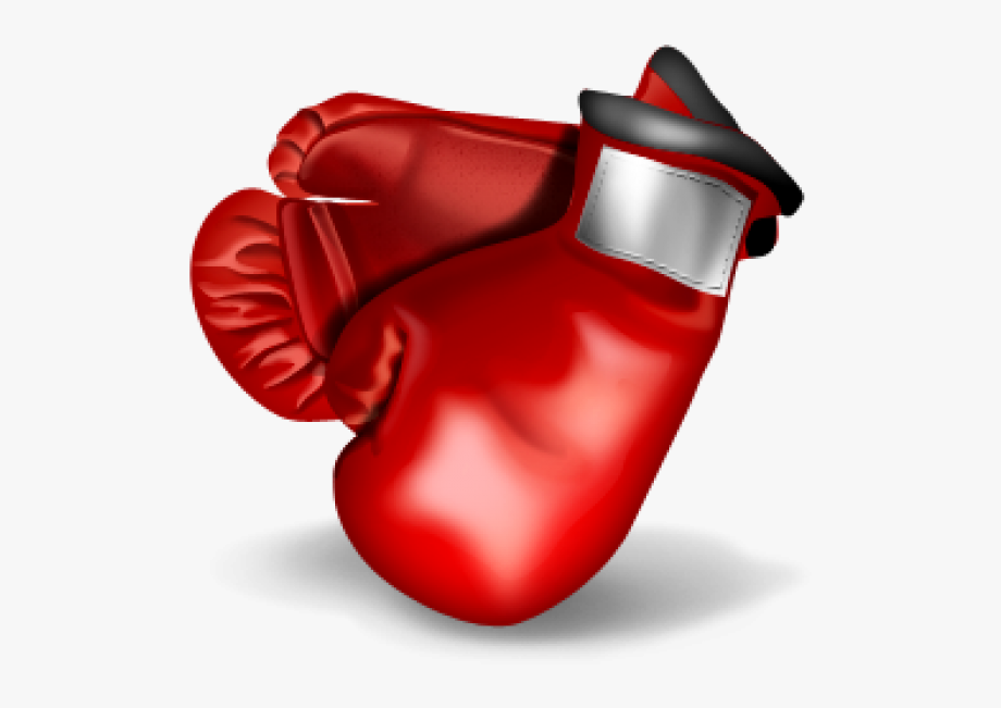 Red Boxing Gloves Clipart Free Png Download.
