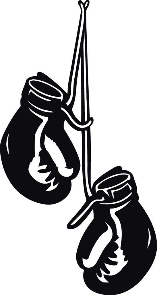 Boxing Gloves Image Clipart.