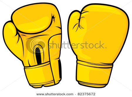 Boxing Gloves Clipart Illustrations.