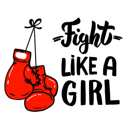1,829 Girl Boxing Stock Vector Illustration And Royalty Free Girl.