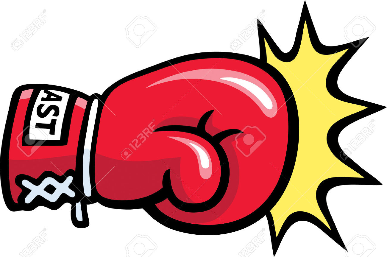 Pow Punch Clipart.