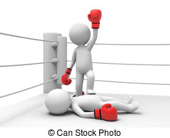 Boxing match cartoon Stock Photo Images. 357 Boxing match cartoon.