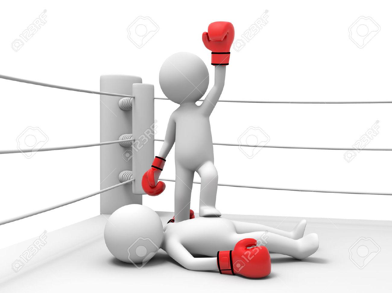 Boxing Winner Clip Art.