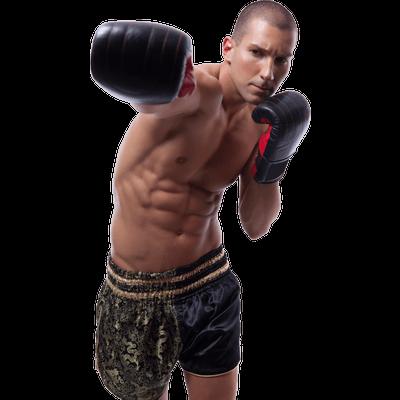 Boxing Sport Man transparent PNG.