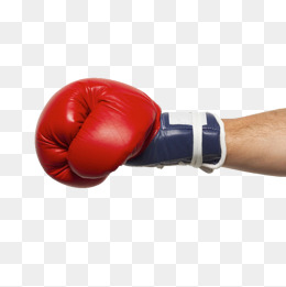 Boxing Gloves, Physical Products, Red, B #29007.