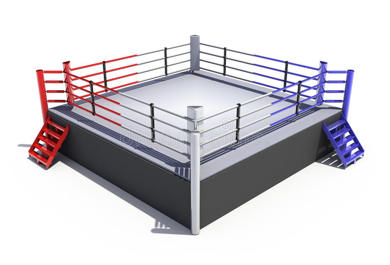 Boxing Ring Stock Illustrations.