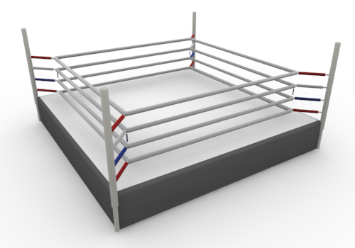 Boxing Ring Clipart.