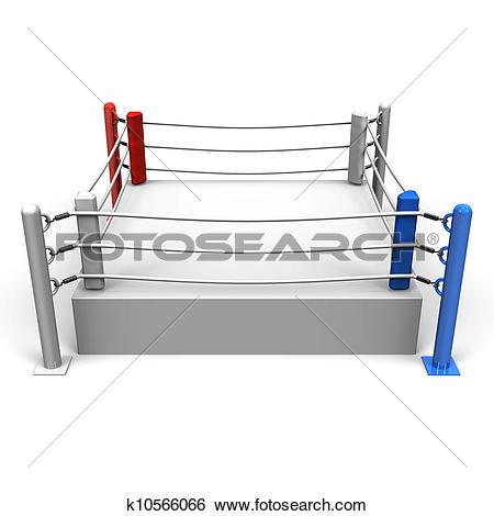 Stock Illustration of Boxing Ring k10566066.