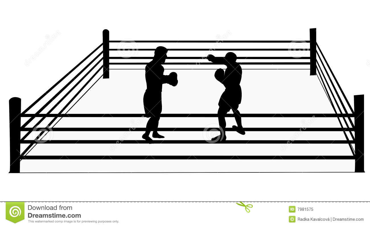 Boxing ring clip art.
