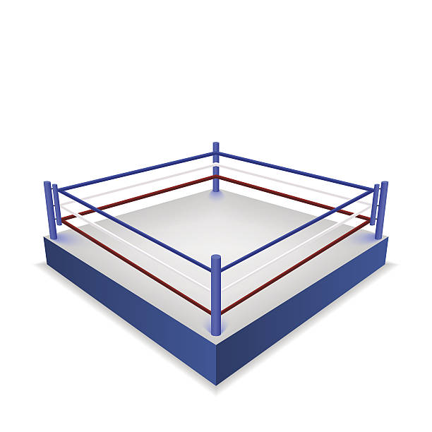 Best Boxing Ring Illustrations, Royalty.