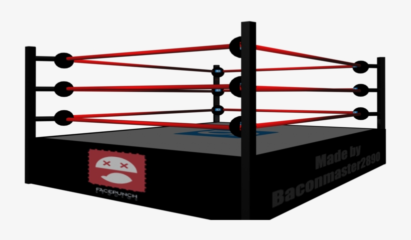 Boxing Ring Cliparts.