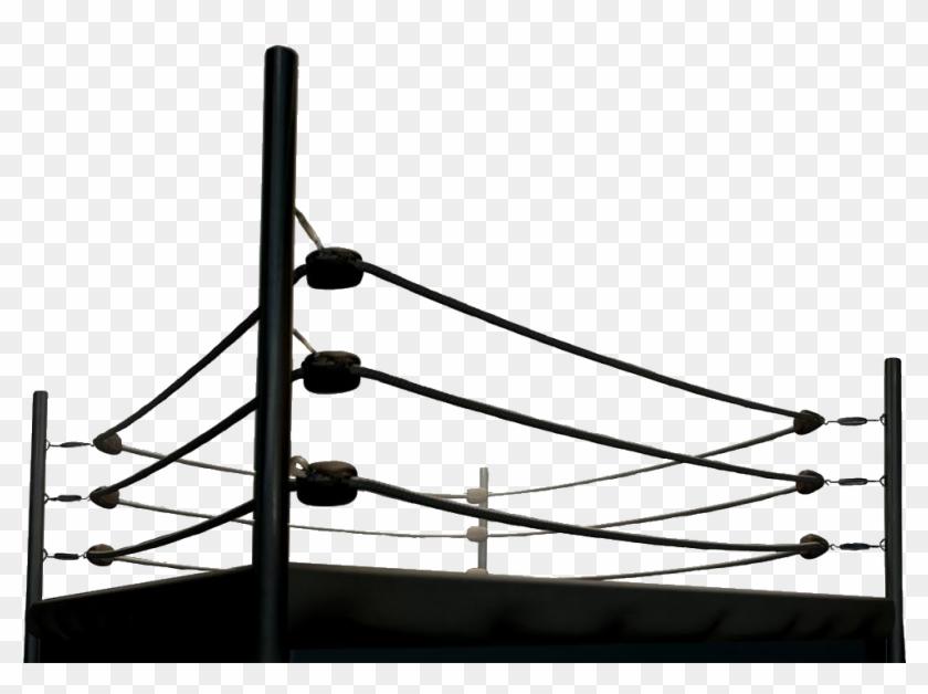 Boxing Ring Ropes Png.