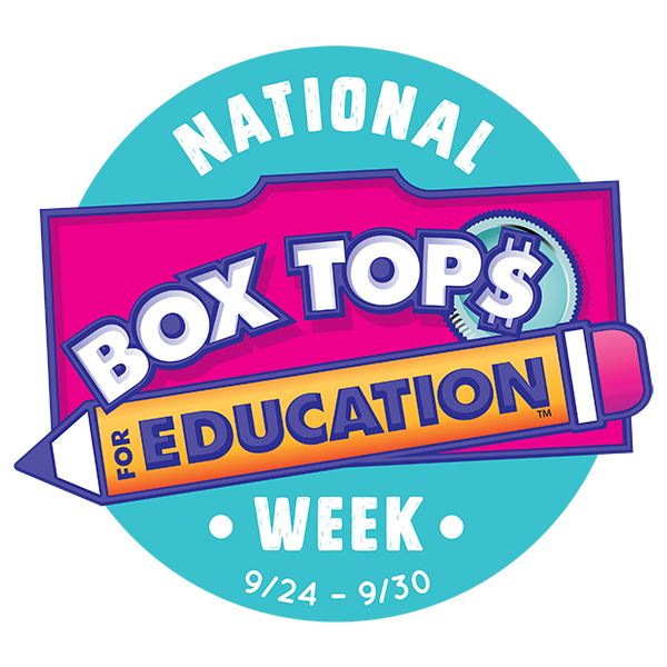 National Box Tops for Education Week.