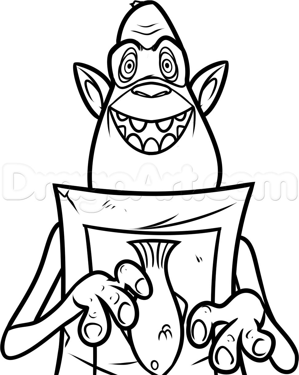 Troll Drawing.