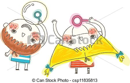 Blowing bubbles Illustrations and Clip Art. 2,436 Blowing bubbles.