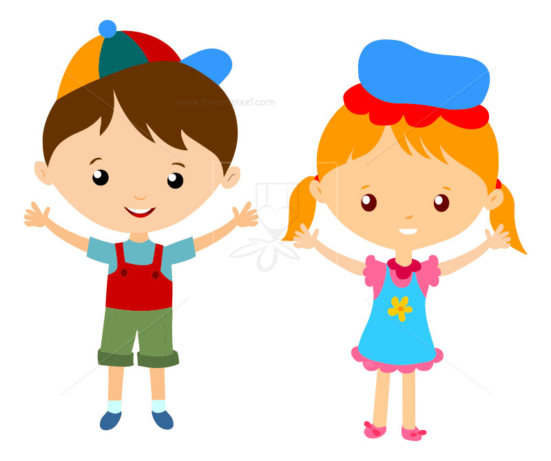 Boy And Girl Clipart 9.