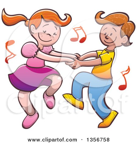 Boy And Girl Dancing Clipart & Free Clip Art Images #22808.