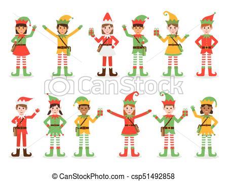 Christmas kid elves.