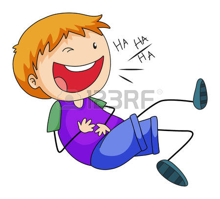 Laughing Kids Clipart.