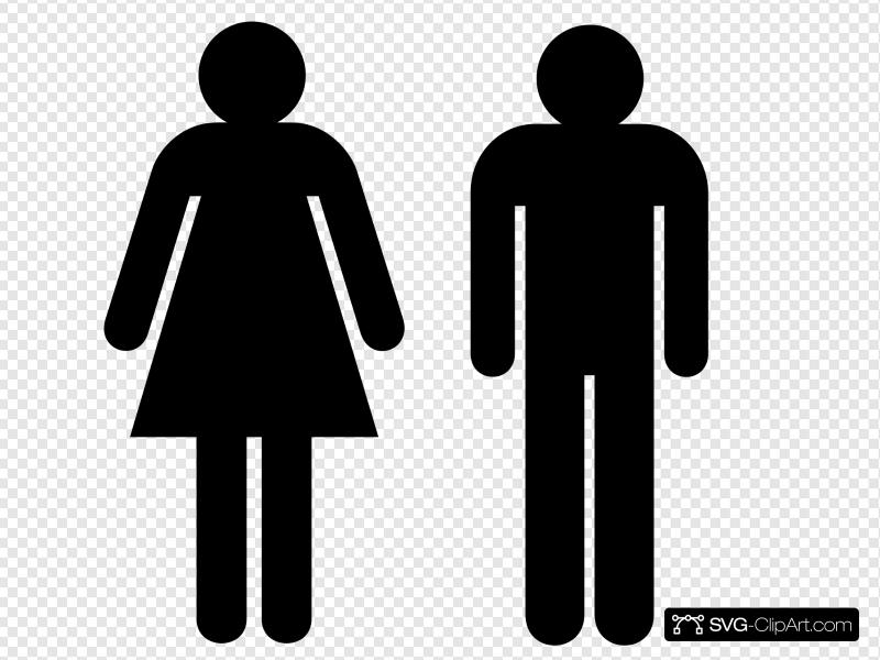 Boy Girl Clip art, Icon and SVG.