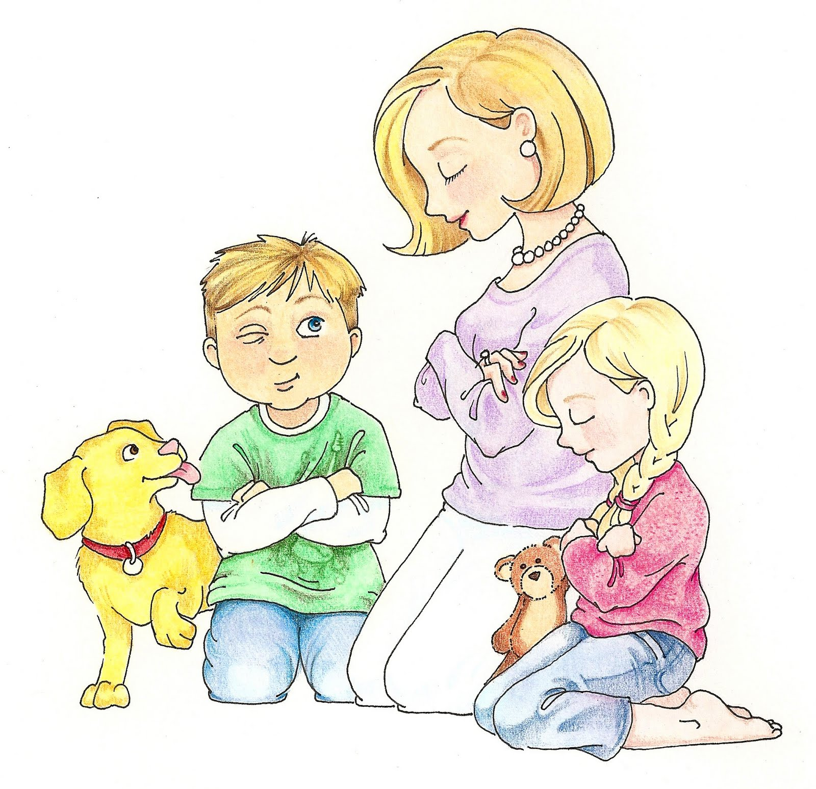 boy and girl praying clipart 20 free Cliparts | Download ...