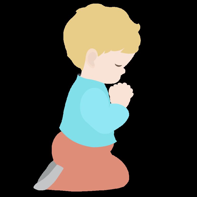 Best Children Praying Clipart #23729.