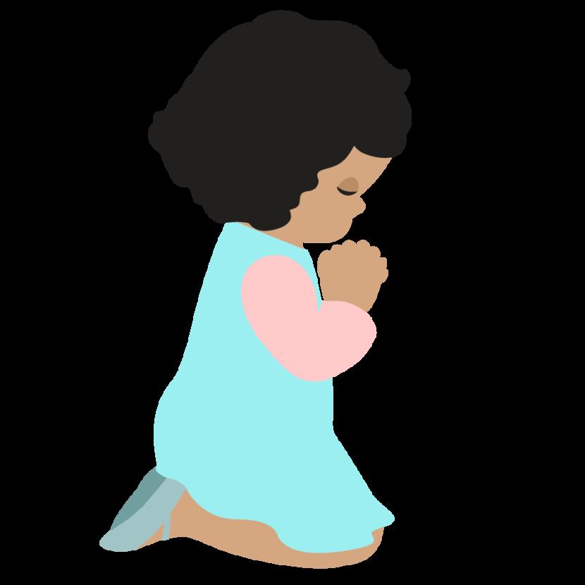 Best Children Praying Clipart #23713.