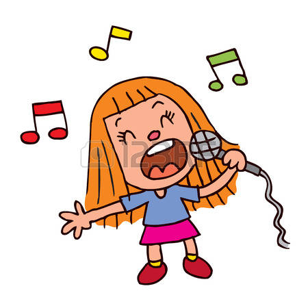 2,077 Girl Singing Stock Illustrations, Cliparts And Royalty Free.